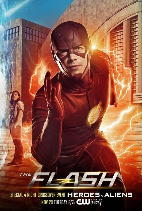 Arrow The Flash Legends Of Tomorrow Crossover Posters