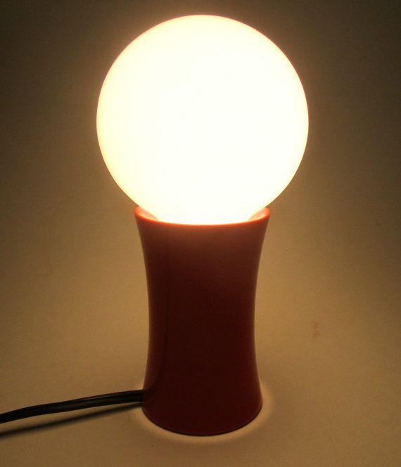 """5 Painted Bulbs forArt Deco 1920s 1930s Bare Bulb Light Fixtures AMBER 40w 3/"""""""