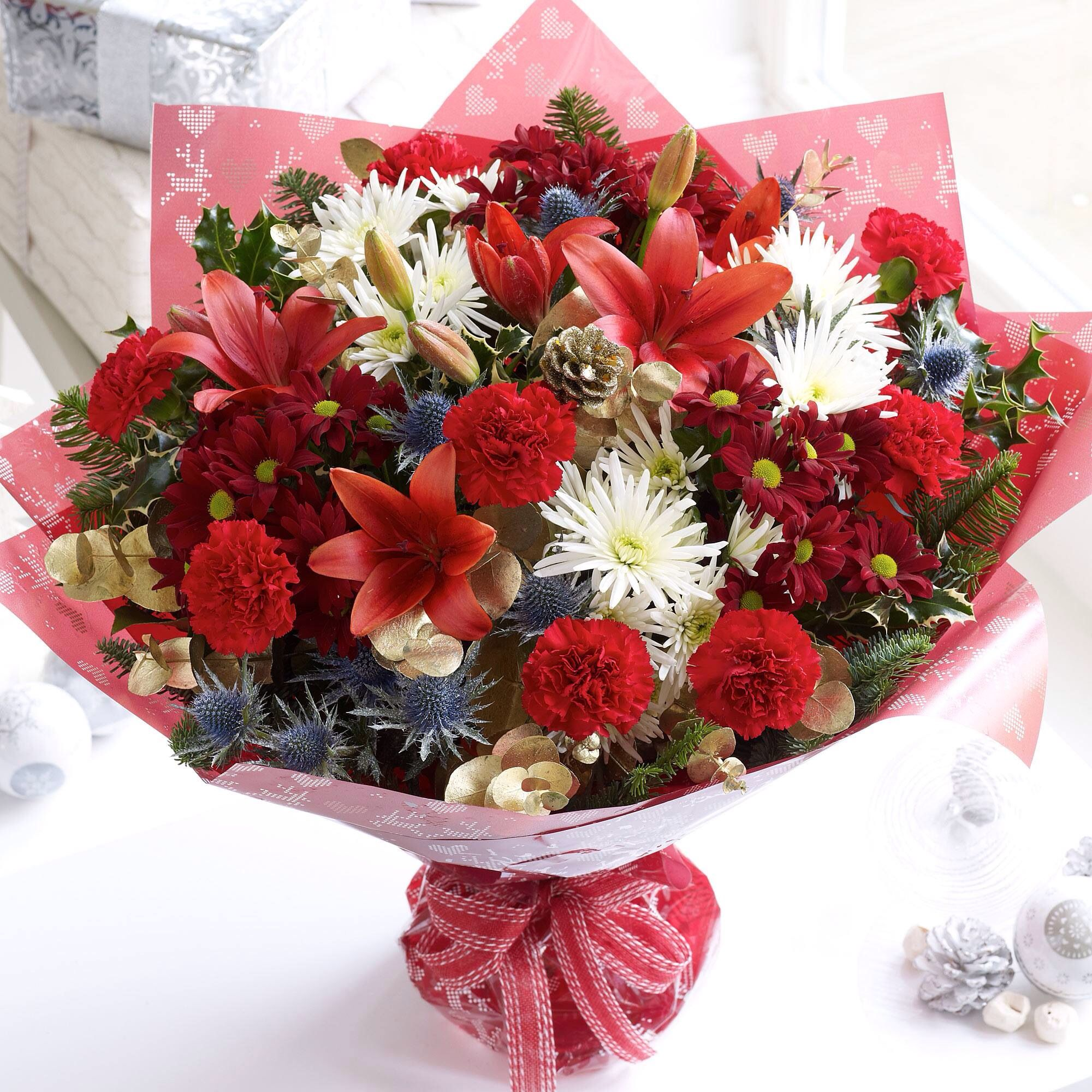 Pin by carolang32 on Flowers Flowers direct, Christmas