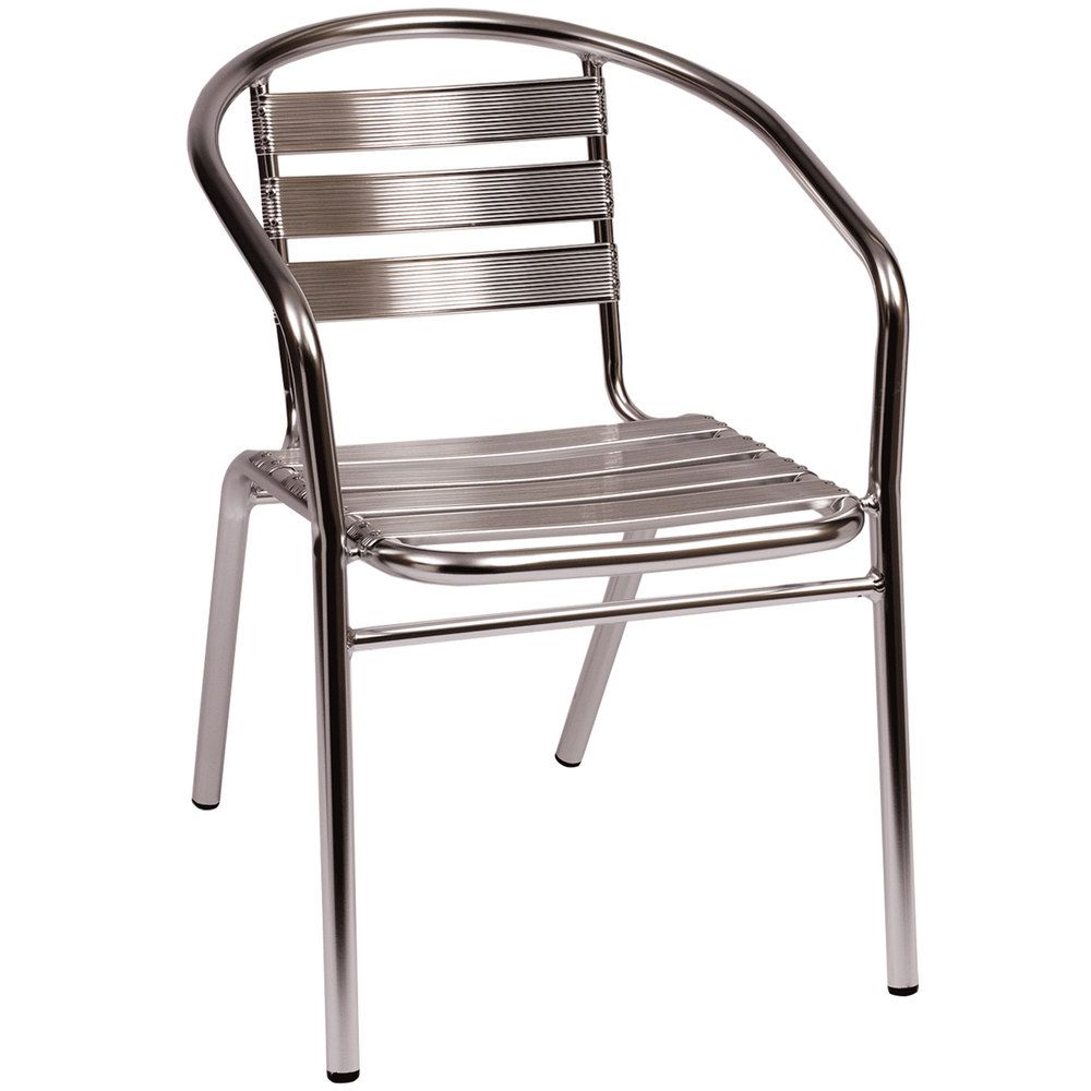 Aluminum stacking outdoor chairs -  42 Outdoor Bfm Seating Ms0021 Parma Outdoor Indoor Stackable Aluminum Arm Chair
