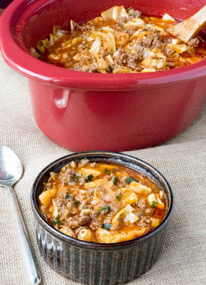 Pin By Natalie Carey On Eat Me Drink Me Cabbage Roll Soup Soup Recipes Low Carb Recipes