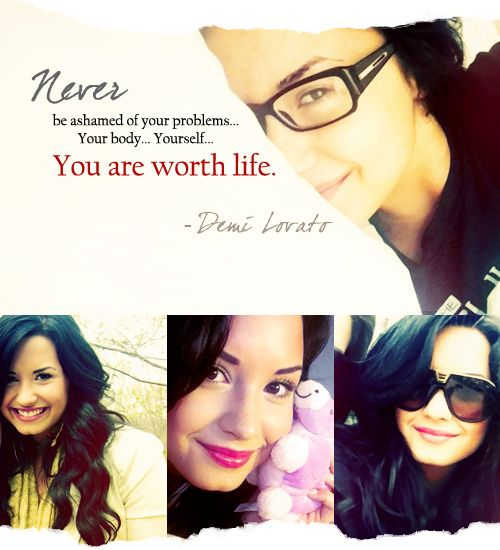 One of the reasons she is my idol! She's struggles, been there; done that, & is still standing as strong as ever. She's the real defintion of beauty & perfection. No doubt about it! ♥