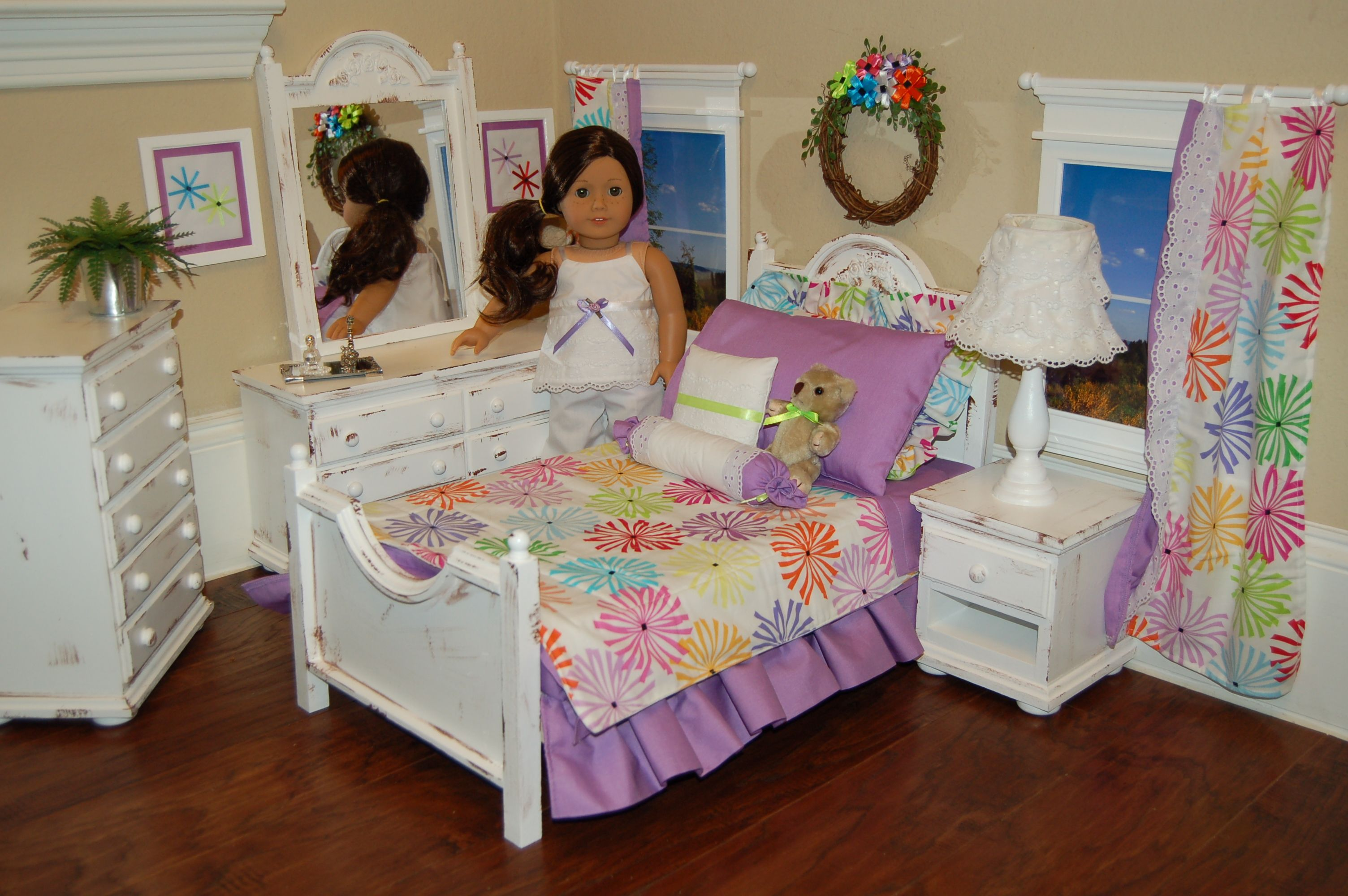 Complete American Girl Bedroom Set See More Of My Work At