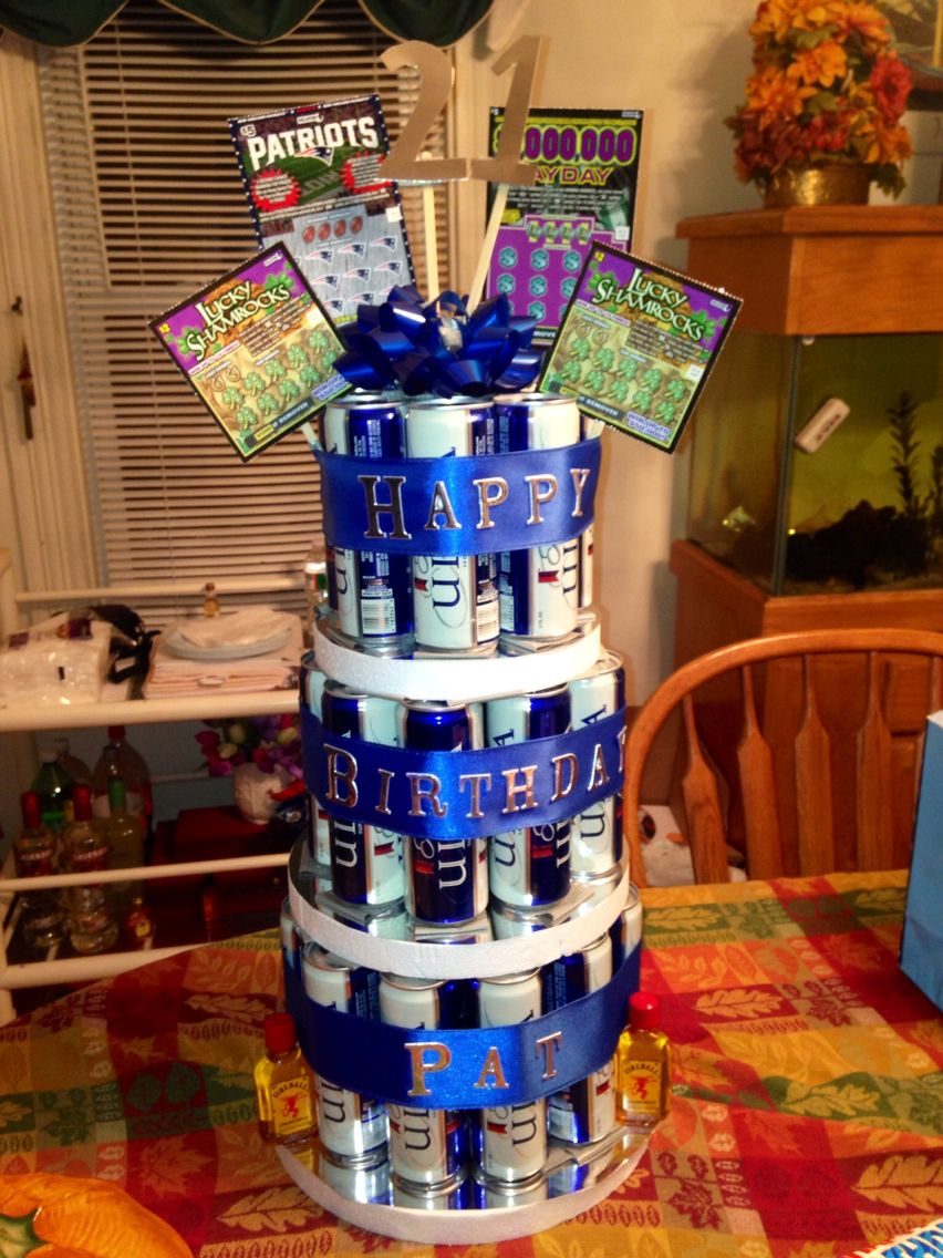 Michelob Ultra Beer Cake Cake Boyfriends 21st Birthday