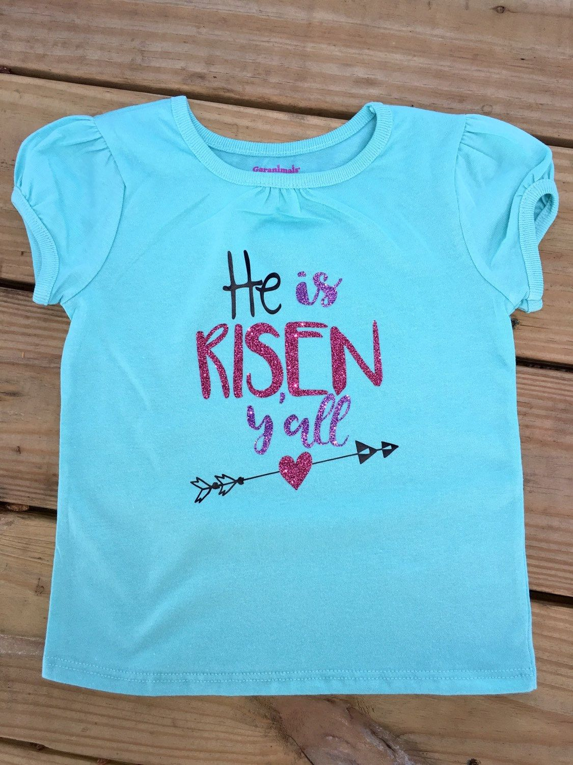 He is risen yall girls easter shirt arrow heart personalized baby he is risen yall girls easter shirt arrow heart personalized baby easter religious negle Gallery