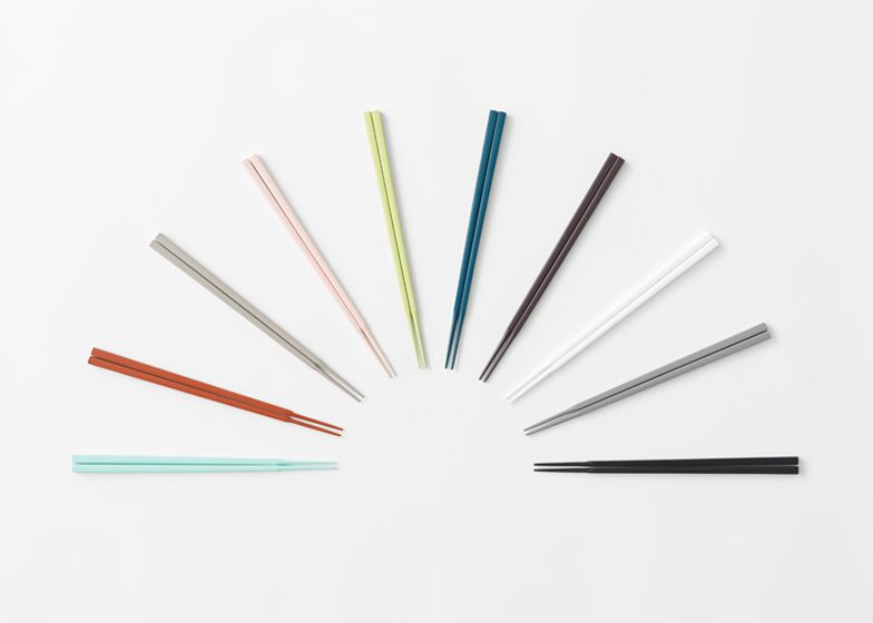 Nendo works with traditional manufacturer to redesign chopsticks
