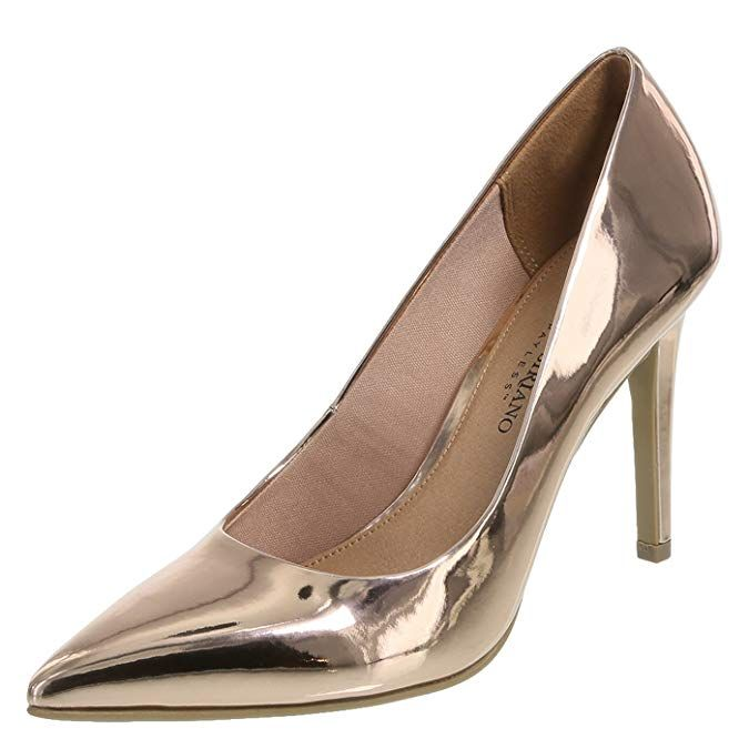d0d18125540be Christian Siriano for Payless Rose Gold Smooth Women's Habit Pointed ...