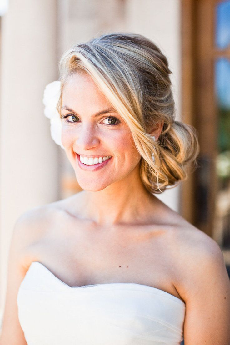 top 15 wedding hairstyles | wedding hair side, side bun updo and