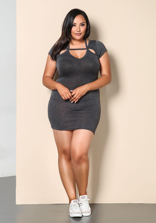 22ba165eff0 Plus size model Bianca Mitsuko Davies