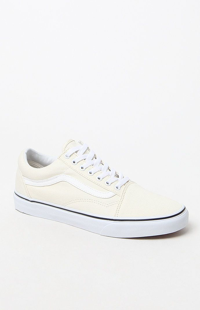 3f36aec113 Vans Canvas Old Skool White Shoes at PacSun.com