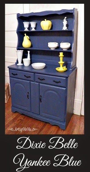And One Of My New Favorites Is Yankee Blue From The Dixie Belle Paint Company I Knew It Would Be A Great Color For