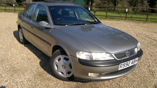 Vauxhall Vectra 2 0gls 1997 The Vodafone Years Vauxhall Cars