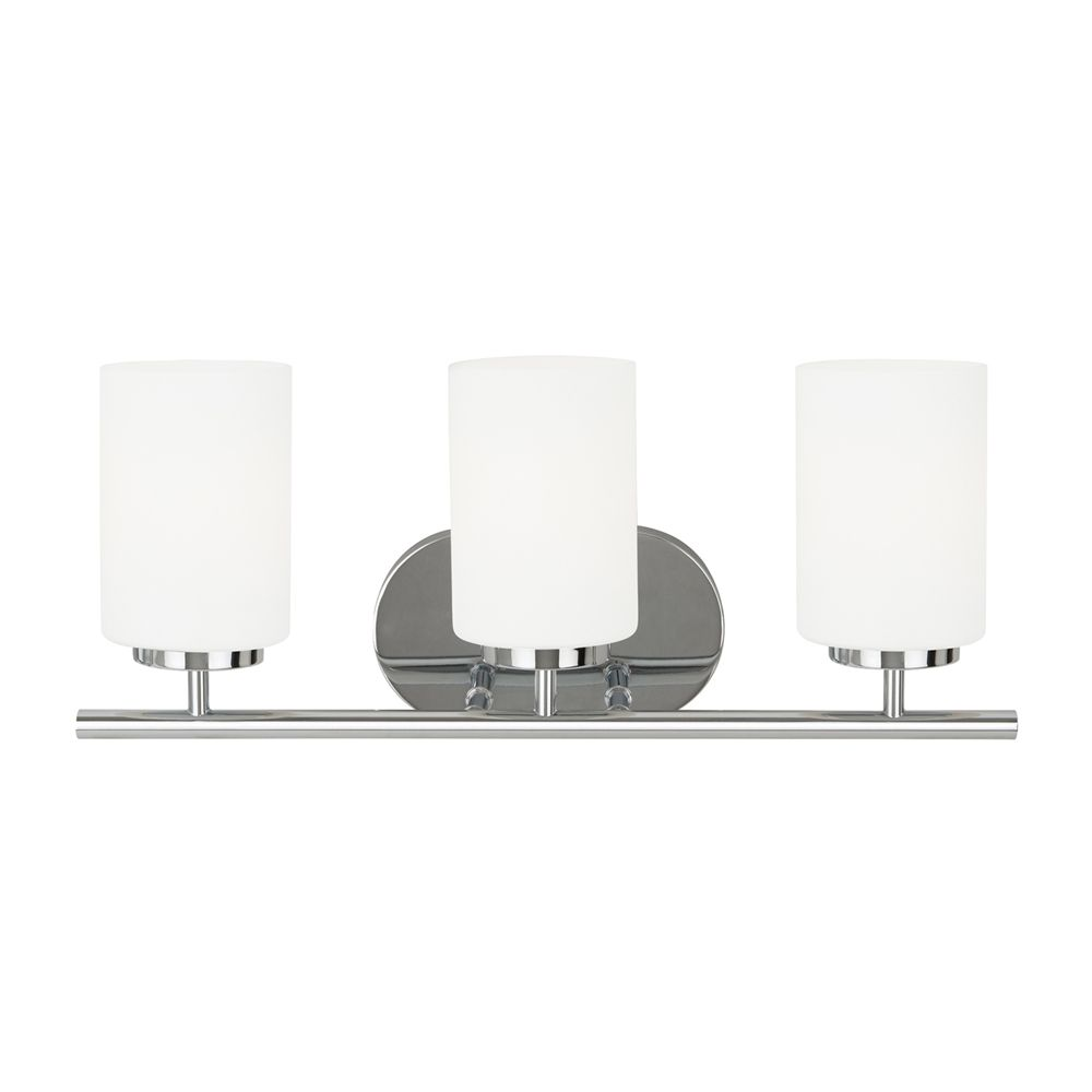 Shop sea gull lighting oslo threelight vanity sconce at