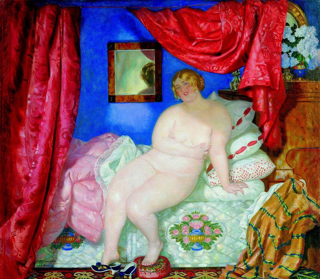 Эротические полноэкранные фото кустодиевская женщина женщин