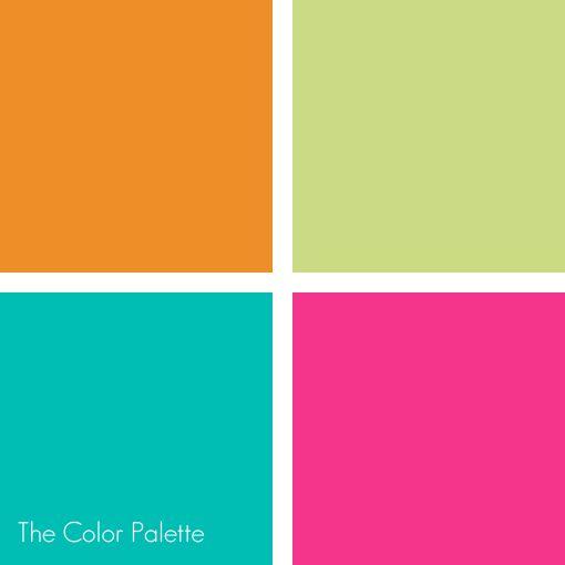 Bright Cheerful Fun Color Design Inspiration Color Palette