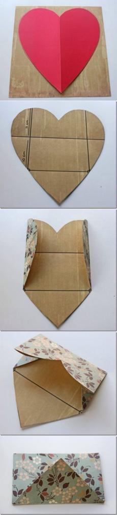 Как легко сложить конвертик