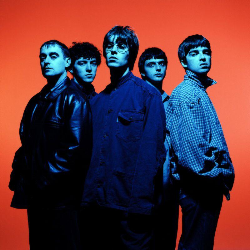 Oasis by Steve Double. | Band photoshoot, Oasis band, Oasis album