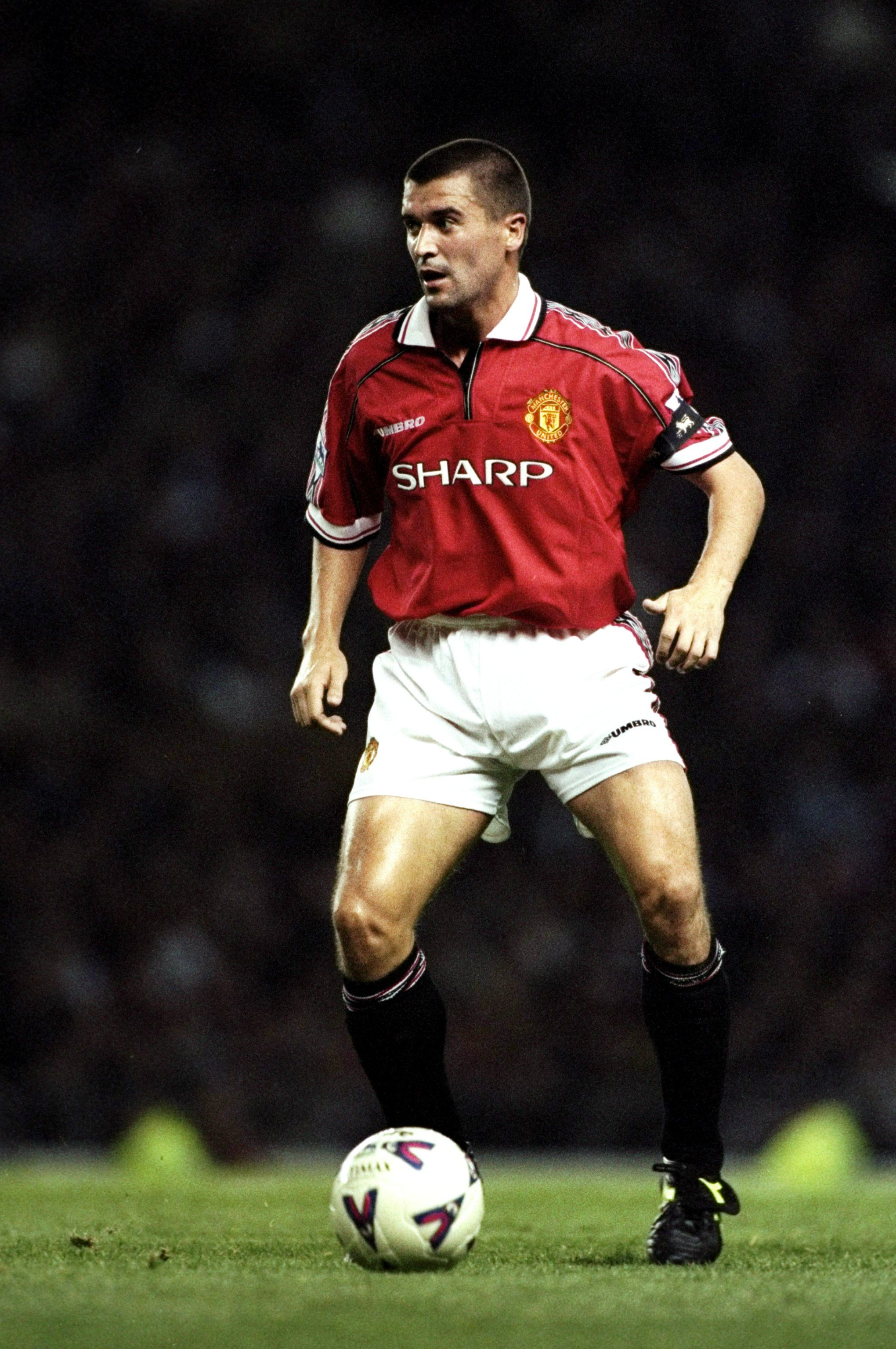 Roy Keane Manchester United Player Of The Year 1998 99