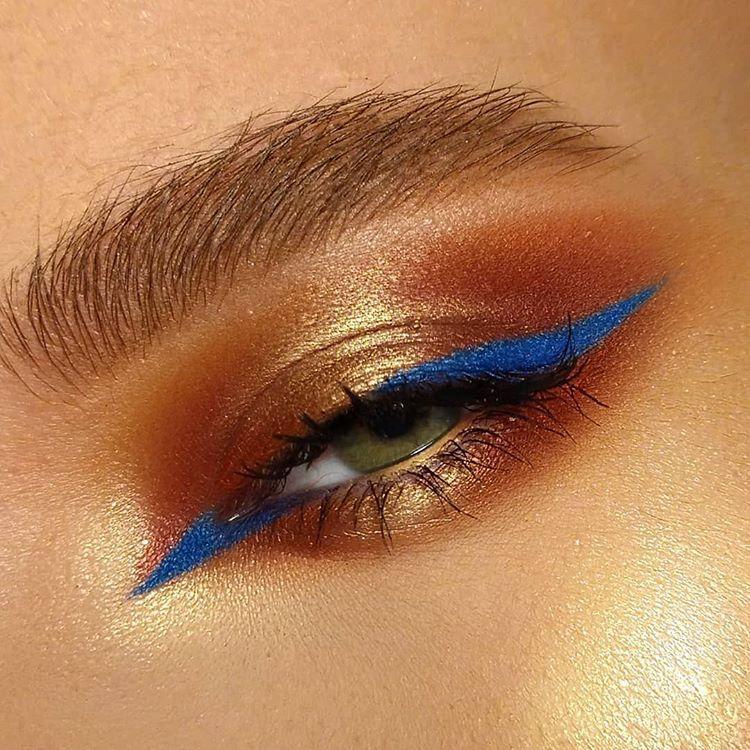 Eye makeup image by Teresa on glamour Aesthetic makeup