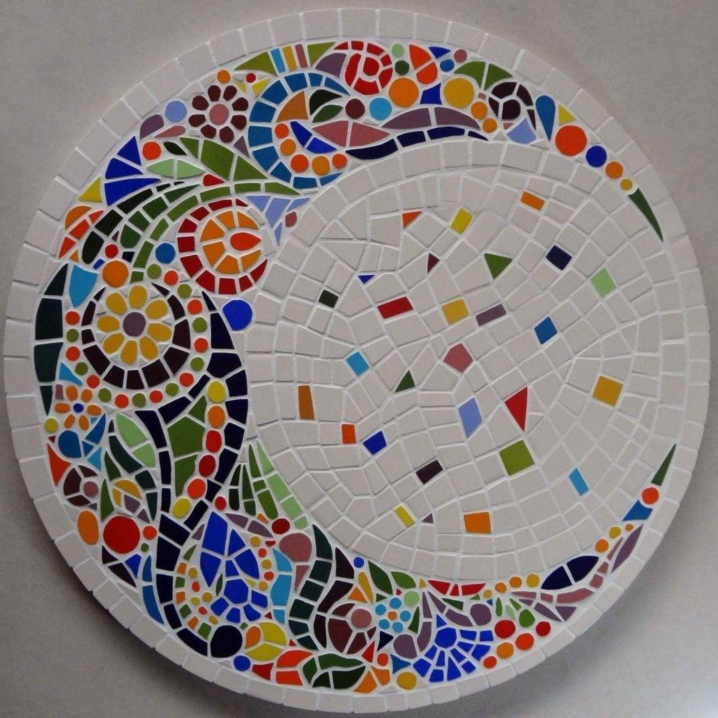 Elegantes Mosaik Vorlagen Tisch Pin Von Nicole