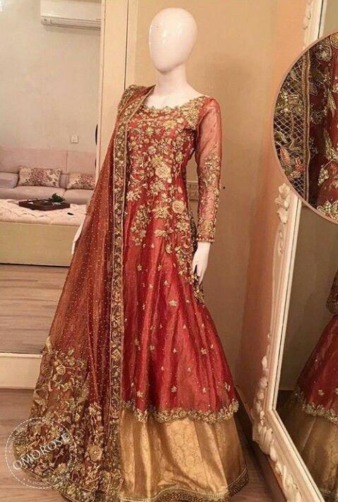 Black Pakistani Wedding Dresses Pin by rameesha...
