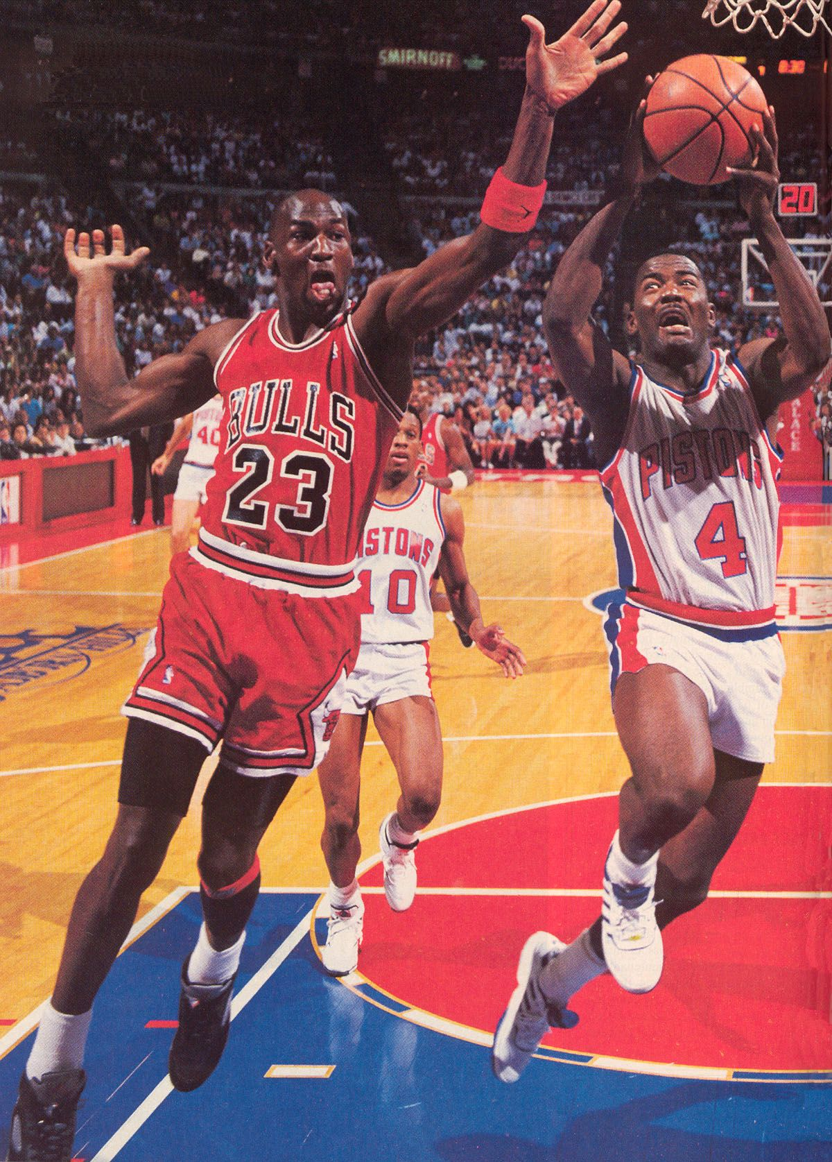 1fff281244b104 89 90 G7 East Finals Detroit - Joe Dumars Layup 1990.06.11 ...