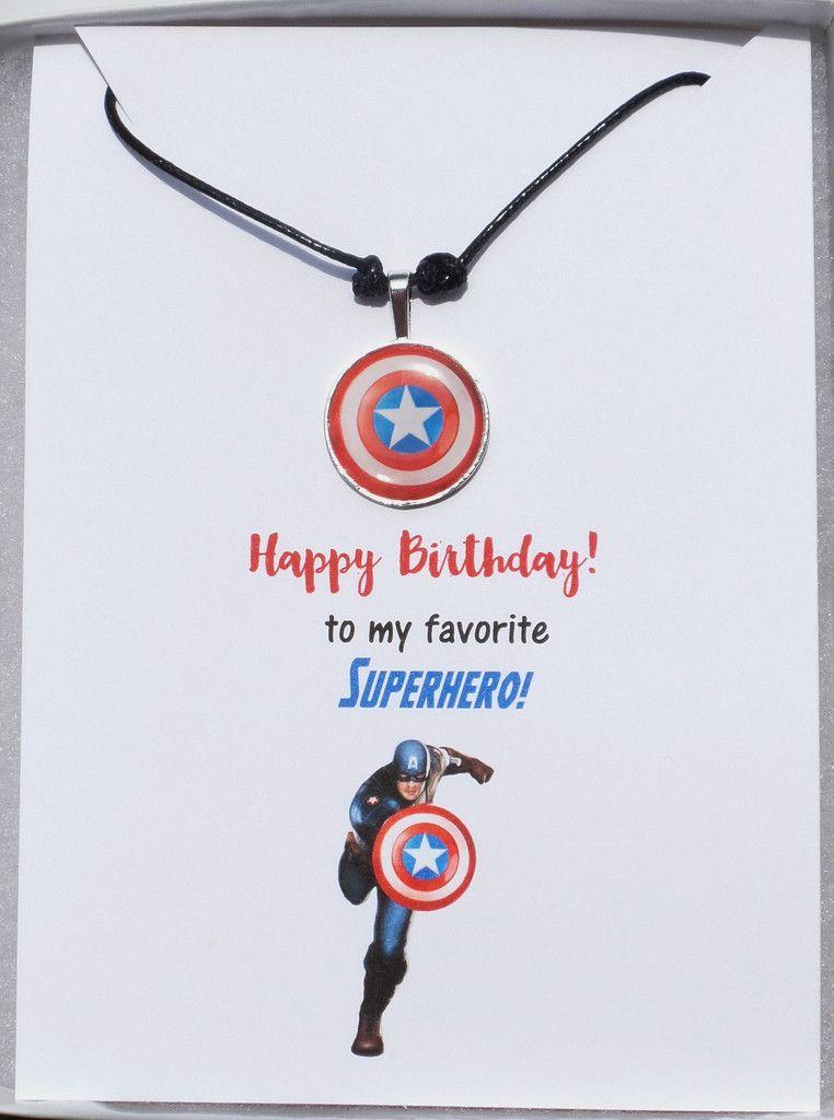 Avengers Captain America Birthday Card Checkout The Captain