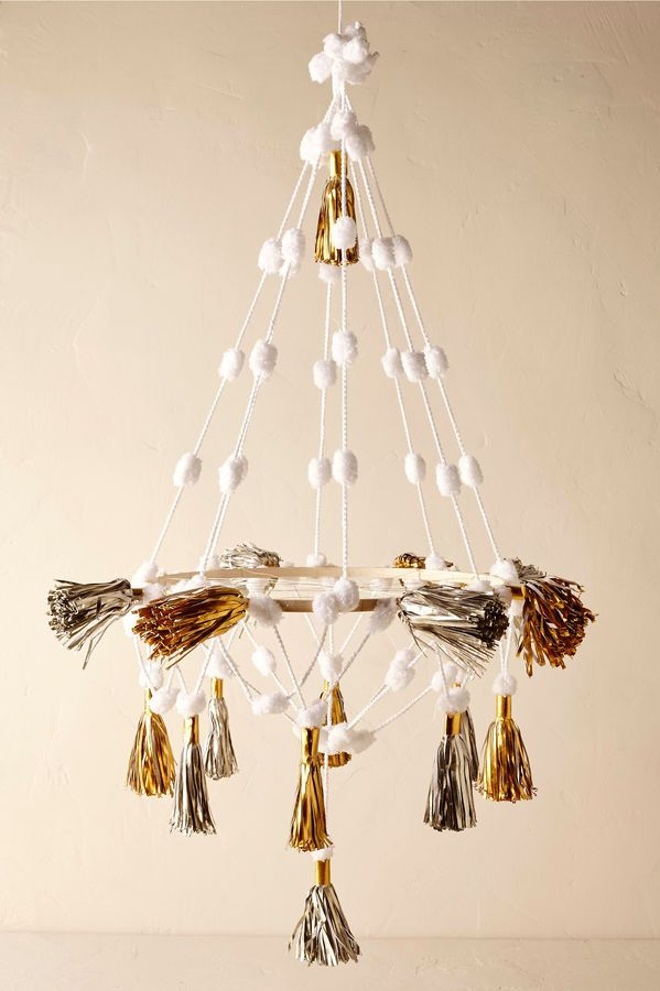 Paper tassel chandelier bhldn im home pinterest bhldn paper tassel chandelier bhldn aloadofball Choice Image
