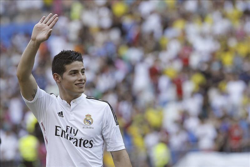 """James despeja las dudas: """"Me quedo en el Real Madrid"""""""