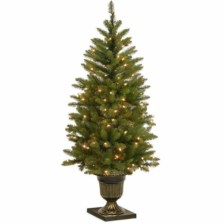 NATIONAL TREE CO National Tree Co 4 Foot Dunhill Fir Entrance Pre