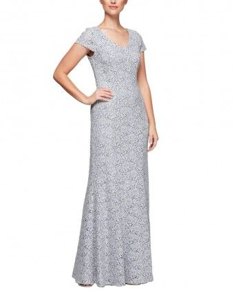 49f47675aede Alex Evenings 1122063 Lace Fit   Flare  249