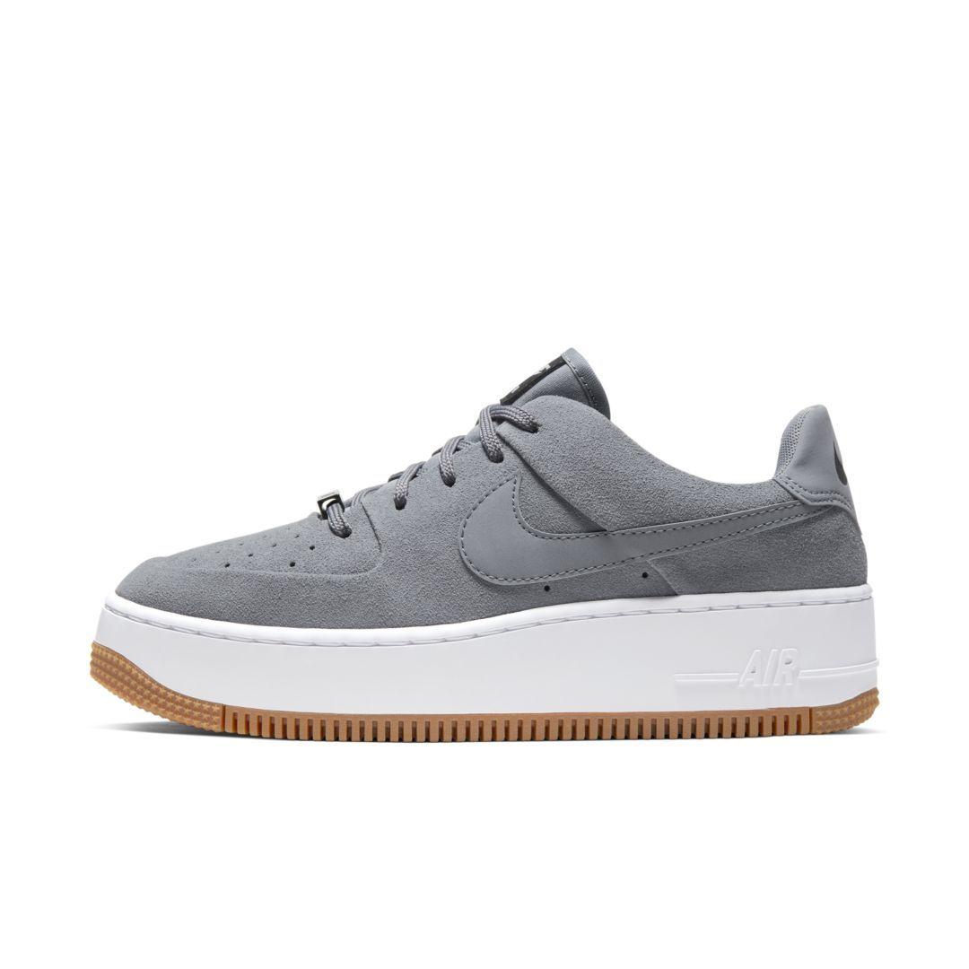 grey air force 1 womens