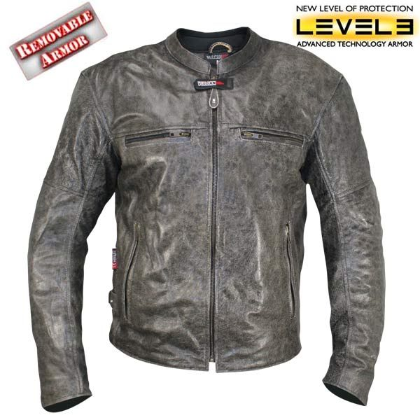 17614b1e4 Vulcan NF-8153 Distressed-Leather Mens Motorcycle Jacket   My Style ...