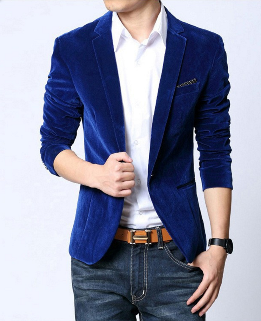 Mens American Slim Fit Fashion Cotton Blazer | Cotton blazer ...