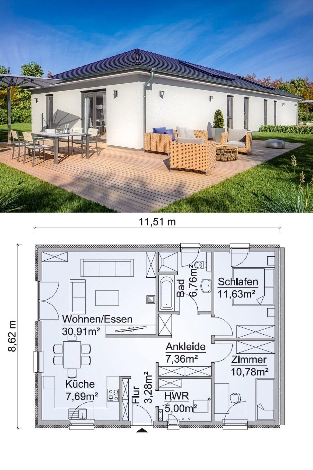 GrundrissEG, Fertighaus Doppelhaus 35124, 63,31 m² ev