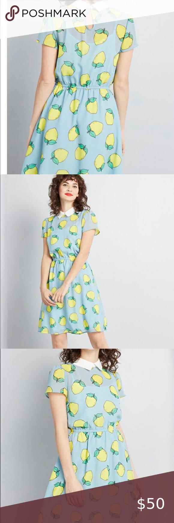 Our Favourite Girl Kenzas Wearing Lemon Print Wrap Dress Style Fashion Lemon Dress [ 1709 x 1200 Pixel ]