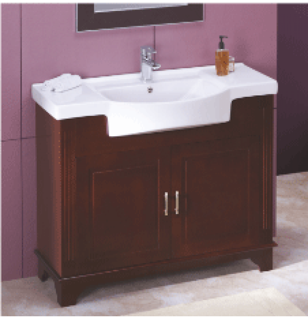 Cera Casino Wash Basin With Full Pedestal Of 530 X 425 MM In Snow White Finish