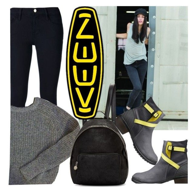 """""""So Fresh and So Keen: Contest Entry"""" by m-jelic ❤ liked on Polyvore featuring Frame Denim, Keen Footwear, American Apparel, STELLA McCARTNEY and keen"""