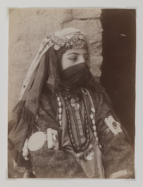 File:Brooklyn Museum - Portrait of Female Member of Shah's Family One of 274 Vintage Photographs.jpg
