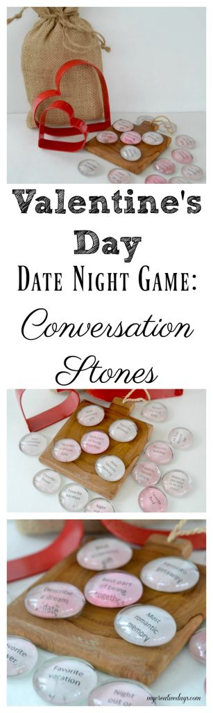 Photo of Valentine's Day Date Night Game: Conversation Stones