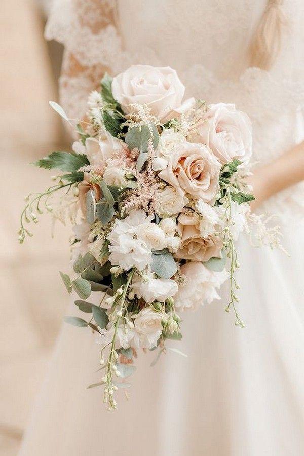Wedding Color Trends 2020: 45 Neutral Spring Wedding Color Ideas #weddingbouquet…