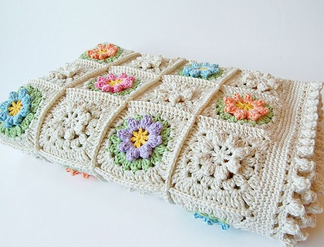 Dada\'s place luv the edging | Crochet and Knit | Pinterest | Manta ...