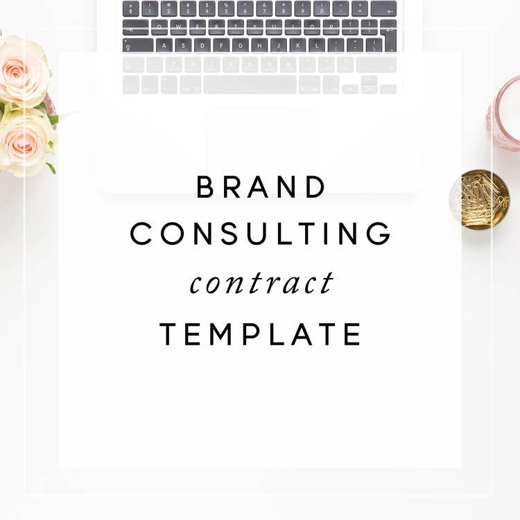 Brand Consulting Contract Template from The Contract Shop - consulting contract template