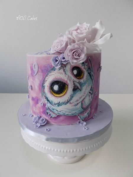 Owl By Moli Cakes Cakes Amp Cake Decorating Daily