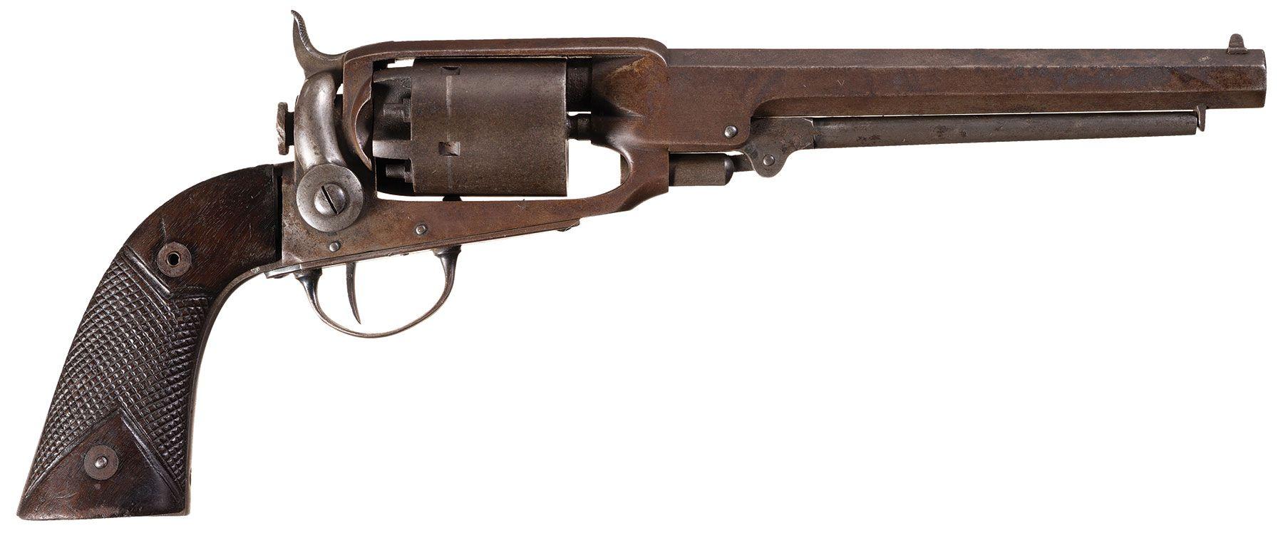 Civil War Joslyn Army Model Percussion Revolver | civil war