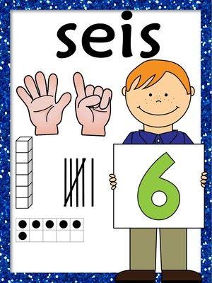 Los Números Numbers Unit 1 20 In Spanish Kinder