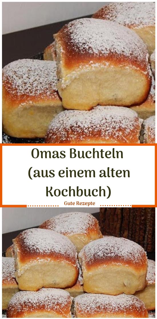 Omas Buchteln (aus einem alten Kochbuch)