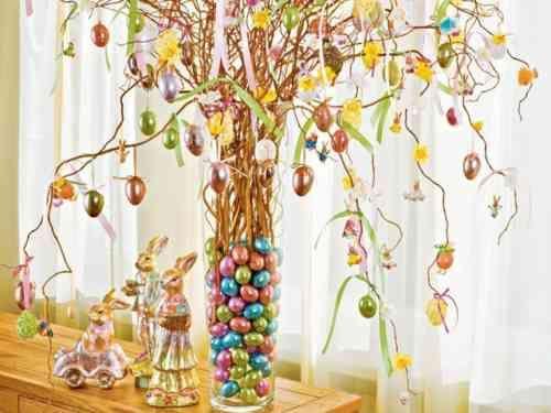 Parfait Des Branches Du0027arbre, Belle Décoration De Pâques