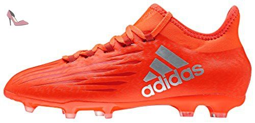 adidas X 16.1 Fg, Chaussures de Football Entrainement Mixte Enfant, Rouge (Solar Red/Silver Metallic/Hi-Reset Red), 32 EU - Chaussures adidas (*Partner-Link)