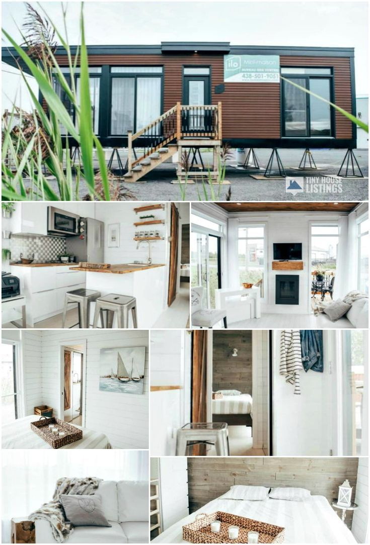 Billy The Tiny House - Tiny House for Sale in Napierville, Quebec #tinylivingideas